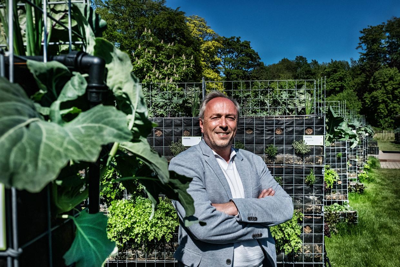 Jean-Patrick Scheepers, eigenaar van Peas and Love.