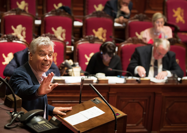 Bert Anciaux in de Senaat.