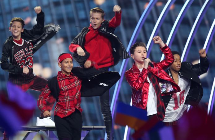 Matheu is vierde geworden bij het Junior Eurovisie Songfestival.