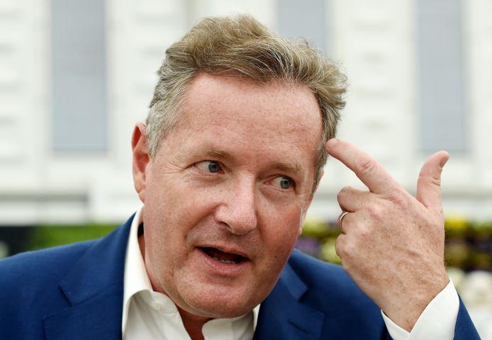 """Piers Morgan is naar eigen zeggen """"nog nooit zo zwaar geweest als nu""""."""