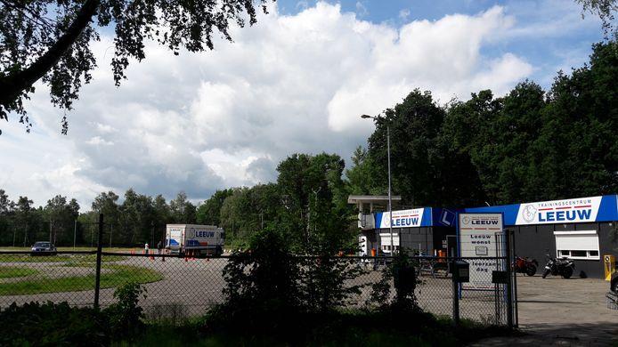 Rijcentrum Leeuw aan de Boutenslaan in Genneper Parken in Eindhoven.