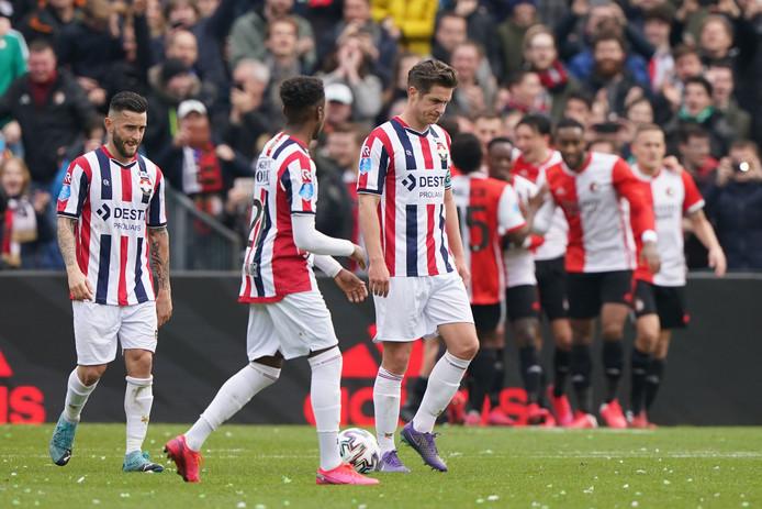 Willem II verloor zondagmiddag met 2-0 bij Feyenoord.