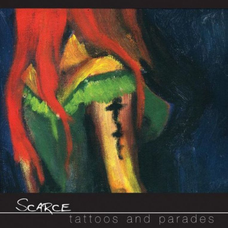 Albumhoes van 'Tattoos and Parades' Beeld Albumhoes