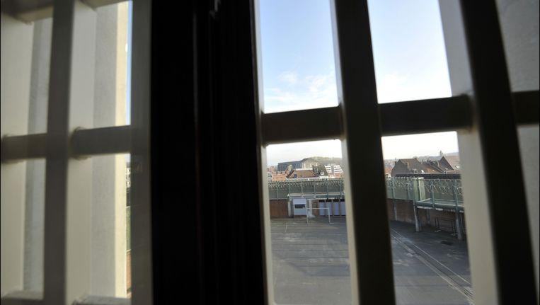 In de gevangenissen van Jamioulx en Doornik (archiefbeeld) gingen de eerste matrassen al in de fik.
