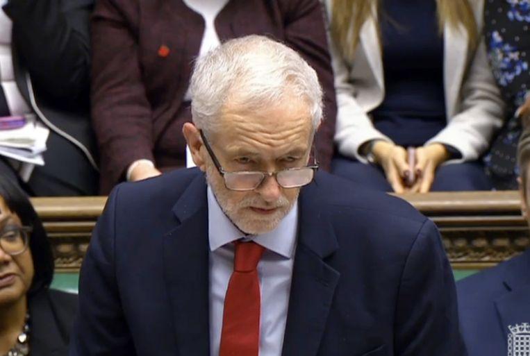 Labour-leider Jeremy Corbyn. Beeld EPA