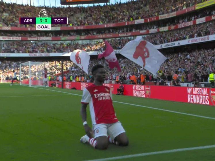 Arsenal te sterk voor Spurs in Londense derby