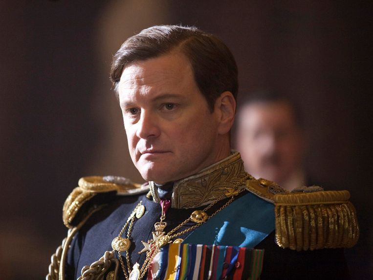 Colin Firth in 'The King's Speech'. Beeld AP