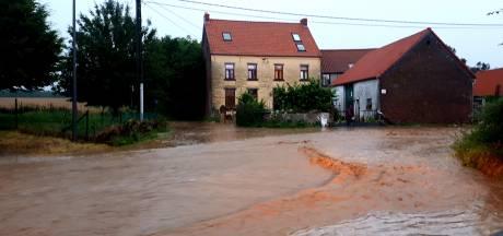 D'importantes coulées de boue dans une partie du Brabant wallon