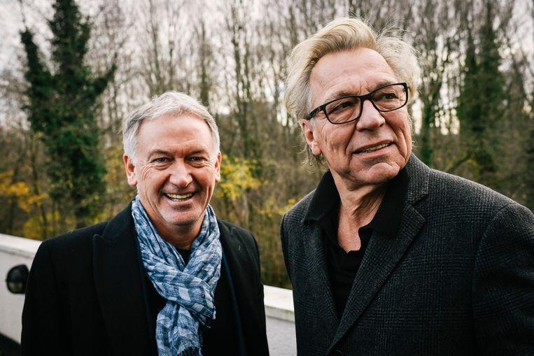 Marc Degryse en Jan Mulder. Beeld BELGAIMAGE