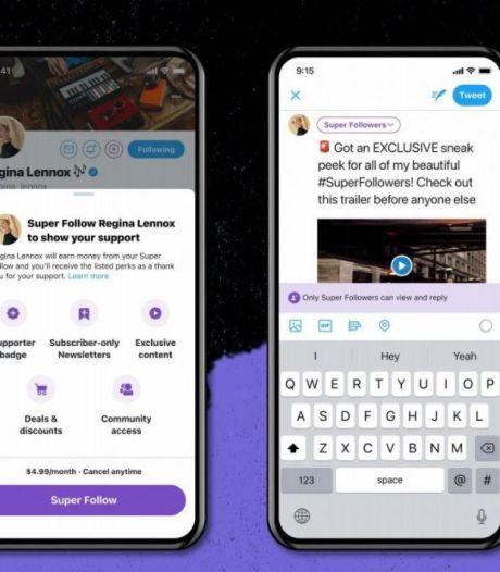 """Des utilisateurs de Twitter pourront bientôt être rémunérés grâce aux """"Super Follows"""""""