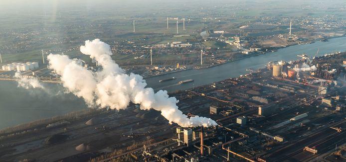 De haven van Gent.