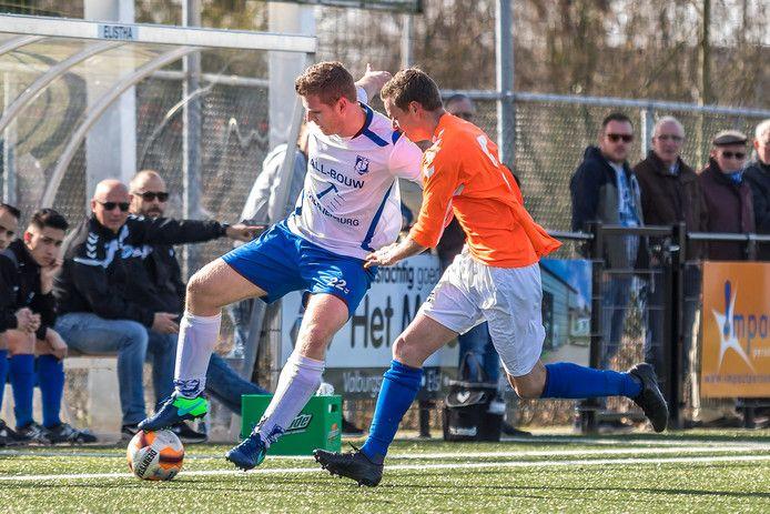 GVA's topscorer Tom te Boekhorst: zes goals in een wedstrijd.
