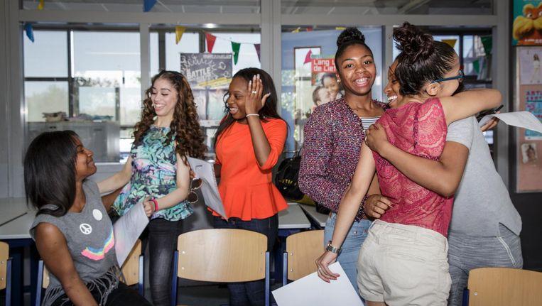 Leerlingen op het vmbo ontdekken dat tolerantie dubbelzinnig en complex is. Beeld Dingena Mol