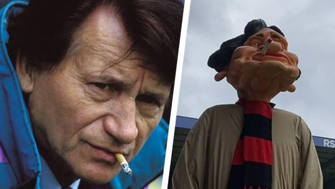 Anderlecht eert Raymond Goethals, die vandaag 100 zou geworden zijn, met komst reus 'Raimundo'