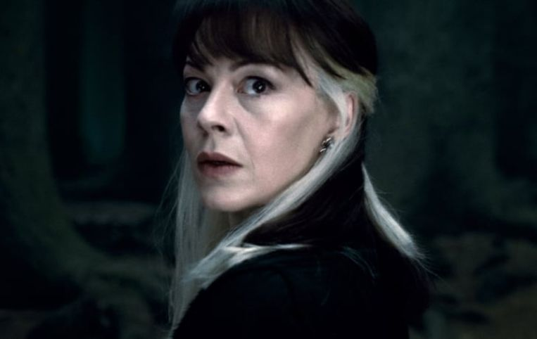 Helen McCrory als Narcissa Malfoy. Beeld PR