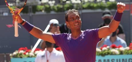 Medvedev en Tsitsipas uitgeschakeld in Madrid, Nadal wint overtuigend en Barty in finale