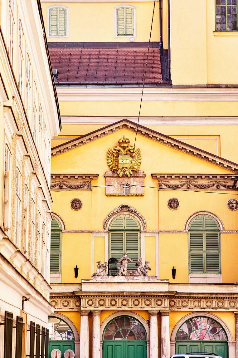 Theater an der Wien. Beeld Peter M. Mayr