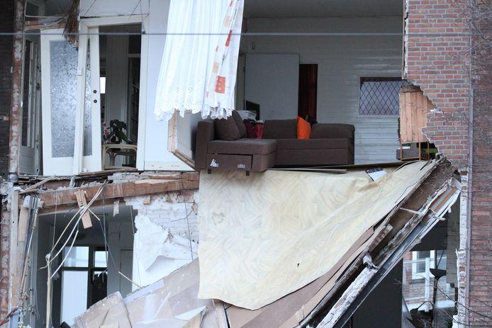 Explosie Den Haag Jan van der Heijdenstraat