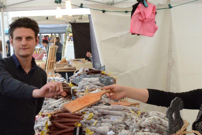 Schepen Kegels wil lokale streekproducenten meer kansen geven om zich aan het publiek te tonen.