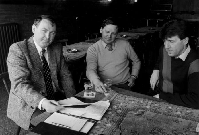 Hennie Hollink (links) in 1984
