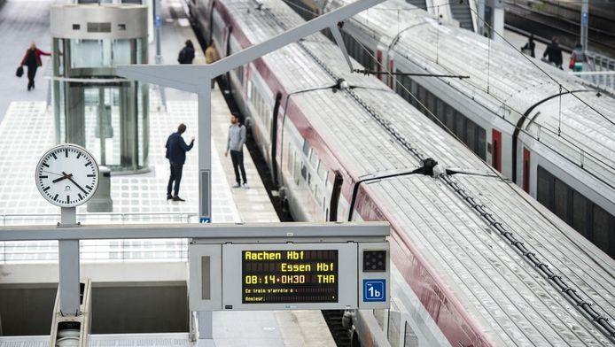 Indien afgeschafte treinen worden meegerekend, bedraagt de stiptheid zelfs maar 84,2 procent.