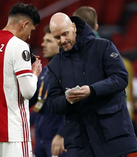 Ten Hag trots na zege van Ajax op Lille: 'Dit is een heel grote prestatie'