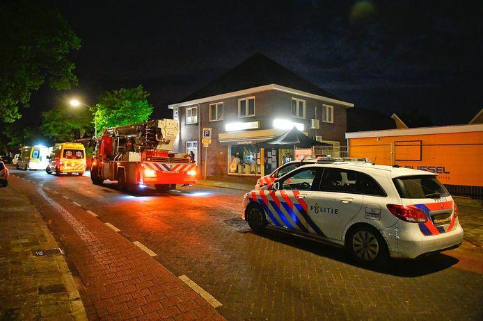 Aan de normaal zo rustige Maastrichterweg vond een gewelddadige overval plaats.