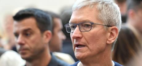 Apple-baas Tim Cook verdedigt beslissing om Hong Kong-app te verwijderen