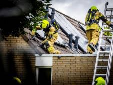 Woningbrand in Heinenoord: bewoner met brandwonden naar ziekenhuis