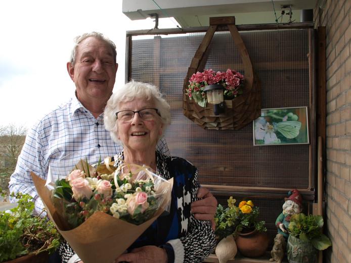 Bruidspaar Francken-Blaauw 60 jaar getrouwd
