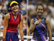 'Historische finale' op US Open tussen onbevreesde tieners: 'Ik heb nog nooit zoiets gezien'