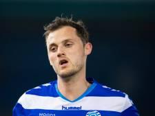 De Graafschap middenvelder Clint Leemans: 'Qua punten gaat het top, maar spel kan zeker beter'