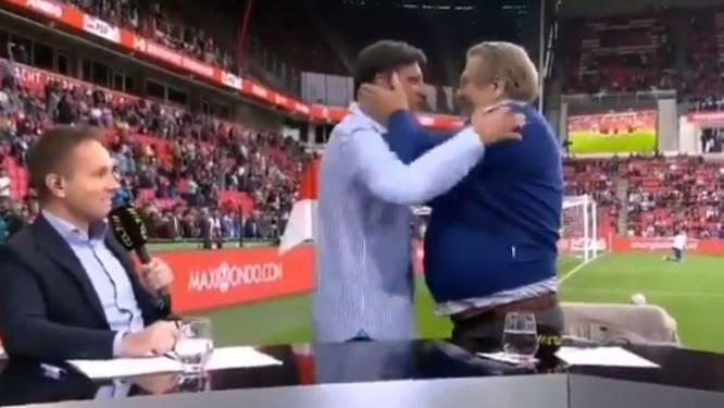 """""""Kanjer! Wereldgozer!"""": heerlijke live hereniging tussen Luc Nilis en Johan Boskamp in Eindhoven"""