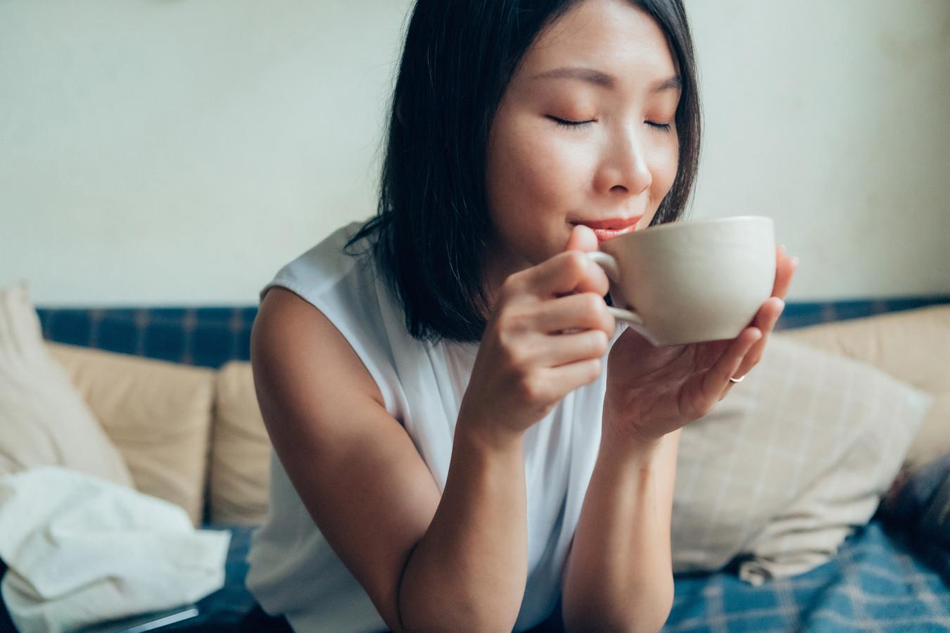 We drinken koffie niet alleen vanwege de smaak.