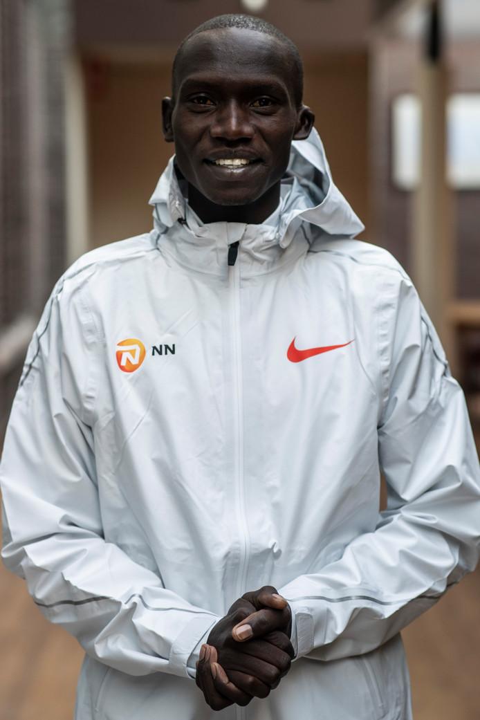 Joshua Cheptegei gaat zondag voor het wereldrecord op de 15 kilometer bij de Zevenheuvelenloop.