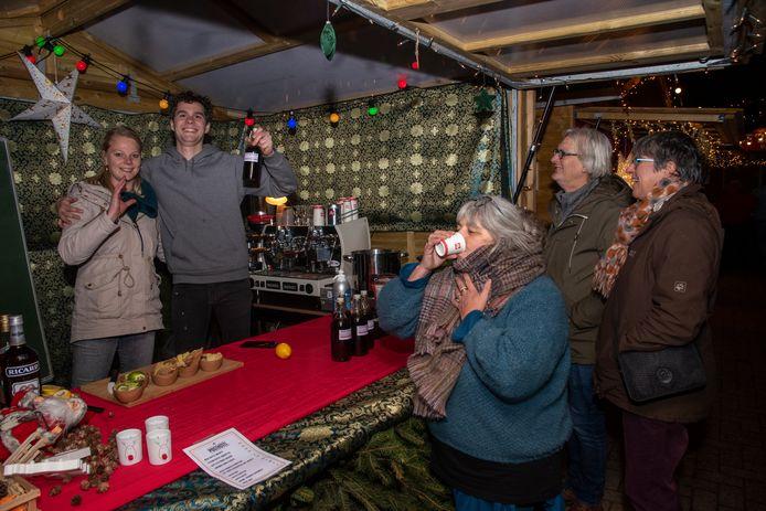 Christmas in the woods op de Markt van Wetteren