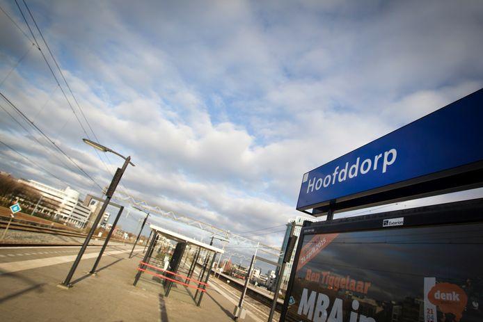 Het station van Hoofddorp.
