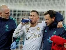 Eden Hazard toujours absent de la feuille de match