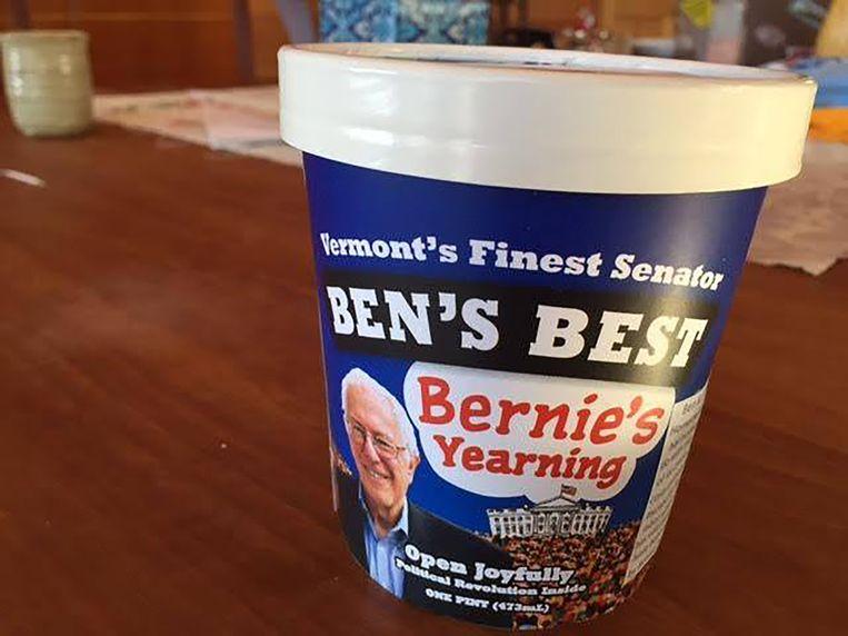 Het Sanders-ijs Beeld Ben Cohen