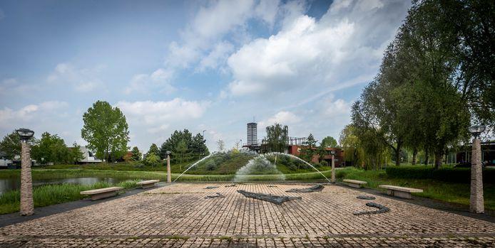 Het omgevingskunstwerk van Egon Kuchlein in Dierdonk, Helmond.