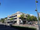 De ABN-Amro op de hoek Stadhuisplein-Wal in Eindhoven.