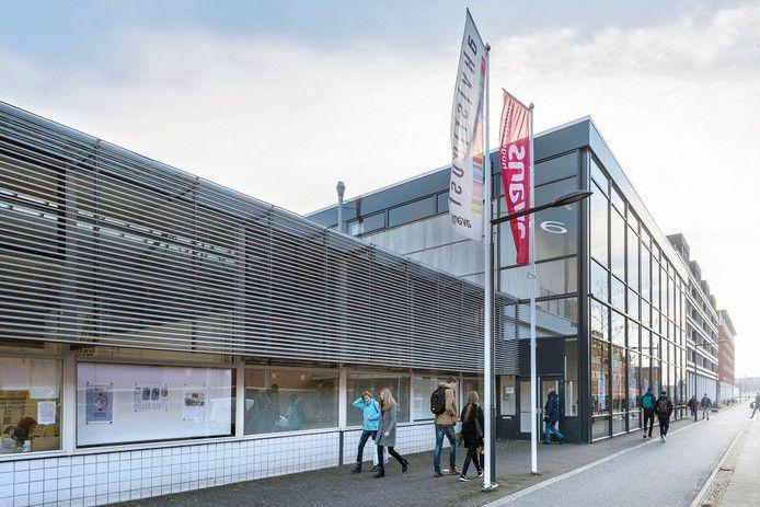 Onderwijsboulevard 256, het voormalige gebouw van de kunstacademie, moet wijken voor nieuwbouw