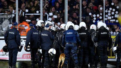 Fans misdragen zich in knotsgekke Limburgse derby, ref Visser fluit STVV-Genk vroegtijdig af