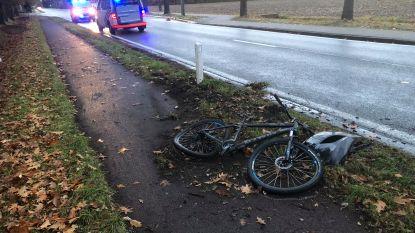Bestuurder die vanochtend fietser aanreed en wegvluchtte, is opgepakt