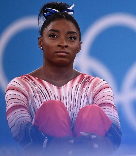 Simone Biles heeft spijt van Spelen: 'Ik had al ruim voor Tokio moeten stoppen'