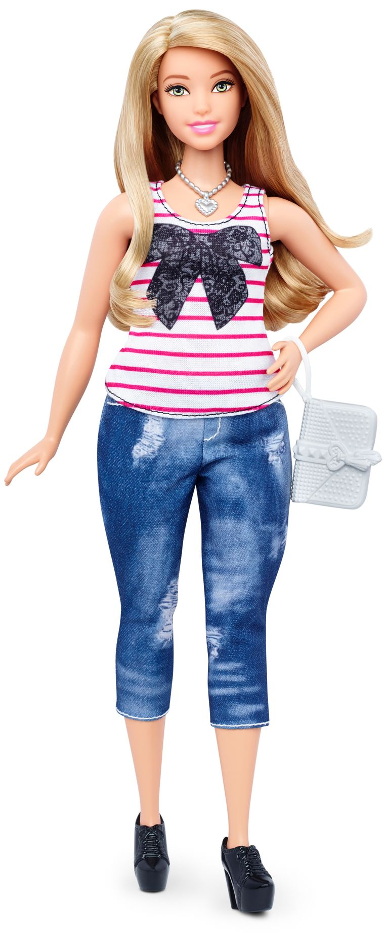 Curvy Barbie Beeld Mattel