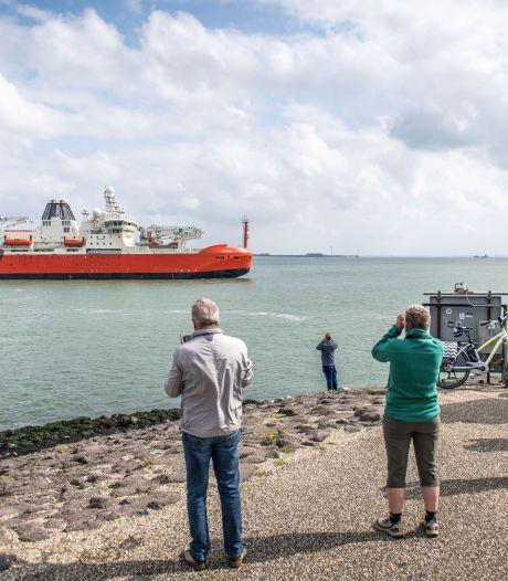 Damen bouwt enorme ijsbreker, waarop straks op de Zuidpool 150 wetenschappers wonen en werken