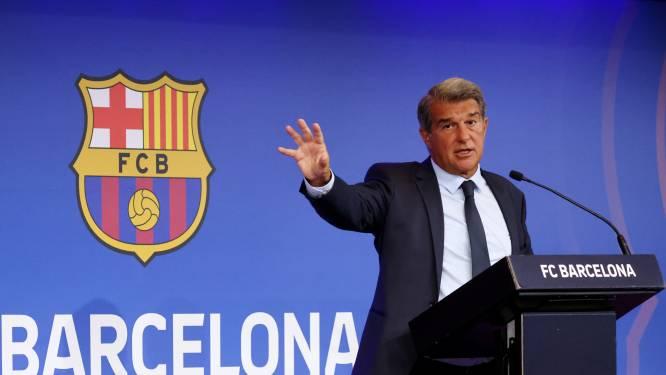 Barça-preses Laporta tegen socios: 'Twijfelen er niet aan dat we dit gaan oplossen'