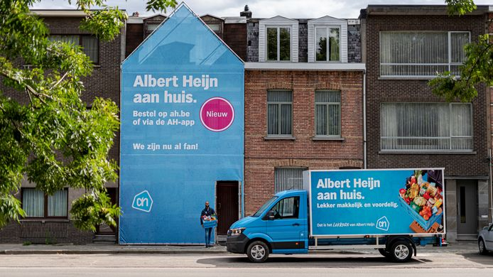 Albert Heijn start met thuisleveringen.