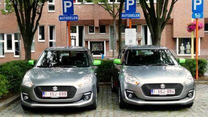 Kontichnaren vinden voortaan twee autodeelwagens op Sint-Martinusplein